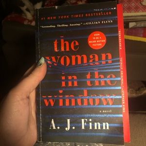 Accents - THE WOMAN IN THE WINDOW BY A.J. FINN